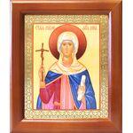 Равноапостольная Нина просветительница Грузии, в рамке 12,5*14,5 см - Иконы