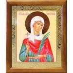 Мученица Алевтина Кесарийская, Валентина, икона в рамке 17,5*20,5 см - Иконы