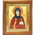 Преподобная Евфросиния Полоцкая, икона в широкой рамке 19*22,5 см - Иконы