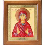Праведная Анна, икона в широкой деревянной рамке 19*22,5 см - Иконы