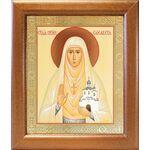 Преподобномученица великая княгиня Елисавета, в рамке 19*22,5 см - Иконы