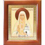 Преподобномученица великая княгиня Елисавета, в рамке 12,5*14,5 см - Иконы