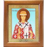 Святитель Никита Новгородский, икона в широкой рамке 19*22,5 см - Иконы