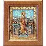 Преподобный Роман Сладкопевец, икона в широкой рамке 14,5*16,5 см - Иконы