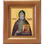 Преподобный Феодосий Тотемский, икона в широкой рамке 14,5*16,5 см - Иконы