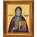 Преподобный Феодосий Тотемский, икона в рамке 17,5*20,5 см - Иконы