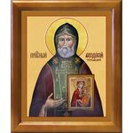 Преподобный Феодосий Тотемский, икона в широкой рамке 19*22,5 см - Иконы