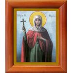 Мученица Фомаида Александрийская, Египетская, икона в рамке 8*9,5 см - Иконы