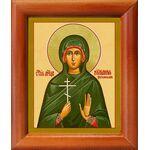 Мученица Иулиания Россонская, икона в рамке 8*9,5 см - Иконы