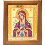 Икона Божией Матери «Семистрельная», в широкой рамке 19*22,5 см - Иконы