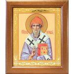 Святитель Спиридон Тримифунтский, широкая рамка 19*22,5 см - Иконы