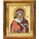 Феодоровская икона Божией Матери, деревянная рамка 17,5*20,5 см - Иконы