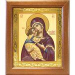 Владимирская икона Божией Матери, в широкой рамке 19*22,5 см - Иконы
