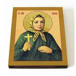 Блаженная Любовь Рязанская, Сухановская, икона на доске 13*16,5 см - Иконы