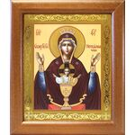 """Икона Божией Матери """"Неупиваемая Чаша"""", в широкой рамке 19*22,5 см - Иконы"""