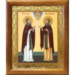Благоверные князья Петр и Феврония Муромские, рамка 17,5*20,5 см - Иконы