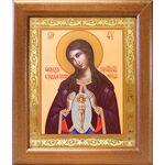 """Икона Божией Матери """"Помощница в родах"""", широкая рамка 19*22,5 см - Иконы"""