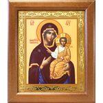 """Икона Божией Матери """"Одигитрия"""" Смоленская, широкая рамка 19*22,5 см - Иконы"""