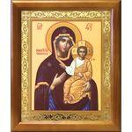 """Икона Божией Матери """"Одигитрия"""" Смоленская, рамка 17,5*20,5 см - Иконы"""