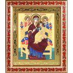 """Икона Божией Матери """"Всецарица"""", рамка с узором 19*22,5 см - Иконы"""