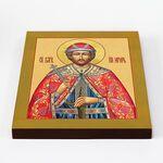 Благоверный князь Игорь Черниговский, икона на доске 20*25 см - Иконы