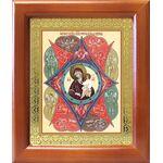 """Икона Божией Матери """"Неопалимая Купина"""", деревянная рамка 12,5*14,5 см - Иконы"""