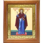 """Икона Божией Матери """"Нерушимая Стена"""", в широкой рамке 19*22,5 см - Иконы"""