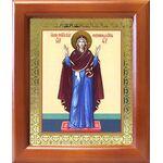 """Икона Божией Матери """"Нерушимая Стена"""", деревянная рамка 12,5*14,5 см - Иконы"""