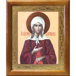 Блаженная Ксения Петербургская, икона в деревянной рамке 17,5*20,5 см - Иконы