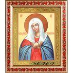 """Икона Божией Матери """"Умиление"""", рамка с узором 19*22,5 см - Иконы"""