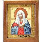 """Икона Божией Матери """"Умиление"""", широкая деревянная рамка 19*22,5 см - Иконы"""