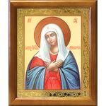 """Икона Божией Матери """"Умиление"""", деревянная рамка 17,5*20,5 см - Иконы"""
