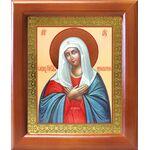 """Икона Божией Матери """"Умиление"""", деревянная рамка 12,5*14,5 см - Иконы"""