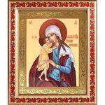 """Икона Божией Матери """"Взыскание погибших"""", в рамке с узором 19*22,5 см - Иконы"""