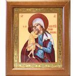 """Икона Божией Матери """"Взыскание погибших"""", широкая рамка 19*22,5 см - Иконы"""