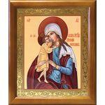"""Икона Божией Матери """"Взыскание погибших"""", деревянная рамка 17,5*20,5см - Иконы"""