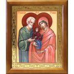 Праведные Иоаким и Анна, икона в деревянной рамке 17,5*20,5 см - Иконы