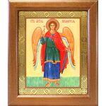 Ангел Хранитель ростовой, икона в широкой рамке 19*22,5 см - Иконы