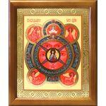 Всевидящее Око Господне, икона в деревянной рамке 17,5*20,5 см - Иконы