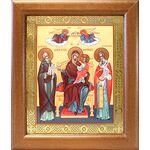 """Икона Божией Матери """"Экономисса"""", широкая рамка 19*22,5 см - Иконы"""