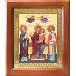 """Икона Божией Матери """"Экономисса"""", деревянная рамка 12,5*14,5 см - Иконы"""