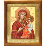 """Икона Божией Матери """"Скоропослушница"""", деревянная рамка 17,5*20,5 см - Иконы"""