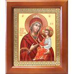 """Икона Божией Матери """"Скоропослушница"""", деревянная рамка 12,5*14,5 см - Иконы"""