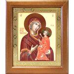 Тихвинская икона Божией Матери, широкая рамка 19*22,5 см - Иконы