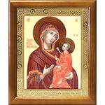 Тихвинская икона Божией Матери, деревянная рамка 17,5*20,5 см - Иконы