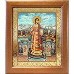 Преподобный Роман Сладкопевец, икона в широкой рамке 19*22,5 см - Иконы