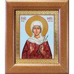 Мученица Виктория Кордувийская, икона в широкой рамке 14,5*16,5 см - Иконы
