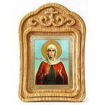 Мученица Василисса Коринфская, икона в резной рамке - Иконы