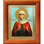 Мученица Василисса Коринфская, икона в рамке 8*9,5 см - Иконы