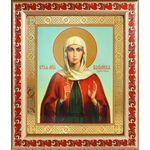 Мученица Василисса Коринфская, икона в рамке с узором 19*22,5 см - Иконы